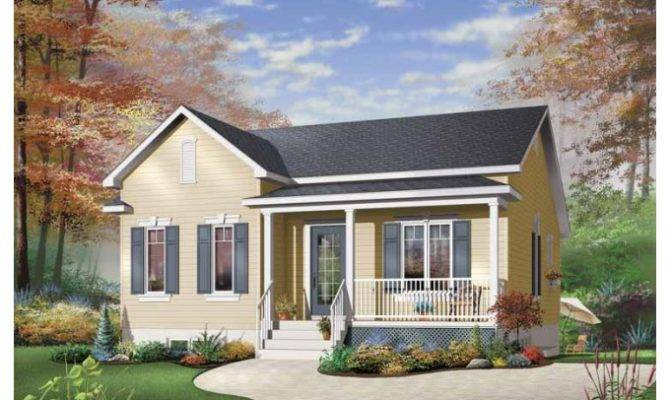 Eplans Country House Plan Simple One Story Bungalow Square