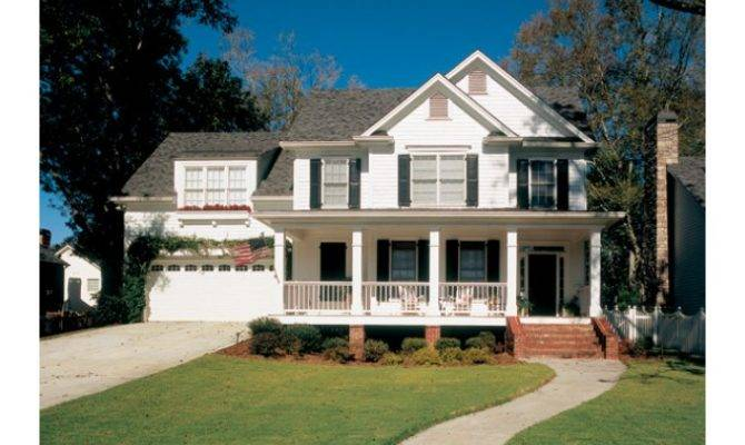 Eplans Country House Plan Two Story Cottage Square Feet