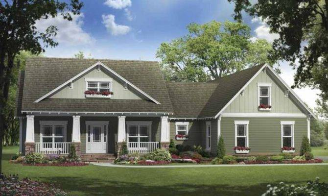 Eplans Craftsman House Plan Looking Has All
