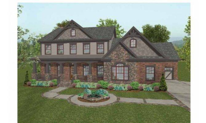 Eplans Craftsman House Plan Old World Home All Features