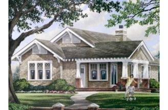 Eplans Craftsman House Plan Square Feet Bedrooms