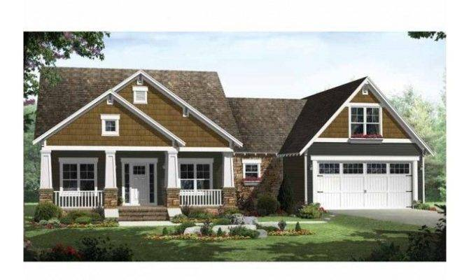 Eplans Craftsman House Plan Styling Upscale Features
