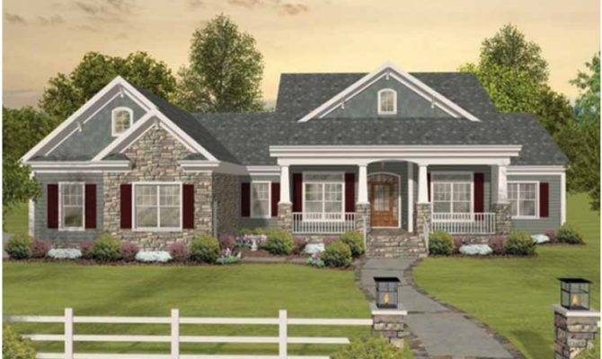 Eplans Craftsman House Plan Tons Room Expand Square