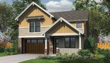 Eplans Craftsman Style House Plan Narrow Lot Two Story