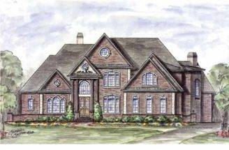 Eplans European House Plan Spectacular First Floor Master Suite