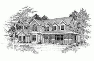 Eplans Farmhouse House Plan Just Right Large