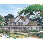 Eplans Farmhouse House Plan Party Planned Square Feet