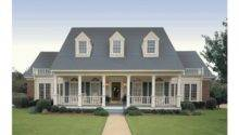 Eplans Farmhouse House Plan Simple Symmetry Square Feet