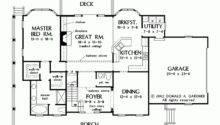 Eplans Farmhouse House Plan Vintage Columns Square Feet