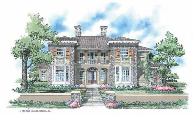 Eplans Italianate House Plan Impressive Italian Renaissance Manor