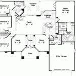 Eplans Mediterranean House Plan Elegant One Story Home Square