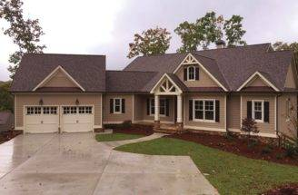 Eplans New American House Plan Lakefront Living Best