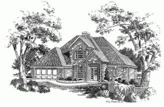 Eplans New American House Plan Narrow Lot Two Story Home
