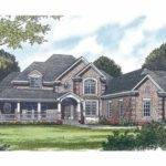 Eplans New American House Plan Party Central Square Feet