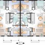 Eplans New American House Plan Simple Split Level Duplex