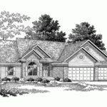 Eplans Ranch House Plan Brick Western Square Feet