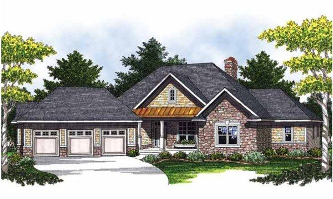 Eplans Ranch House Plan Spacious Master Suite Square Feet
