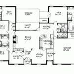 Eplans Tudor House Plan Five Bedroom Square Feet