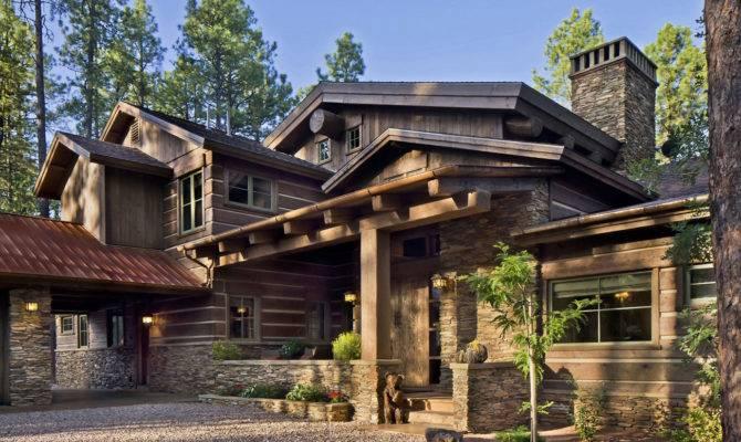 Etnic Contemporary Mountain Home Plans Design Decosee