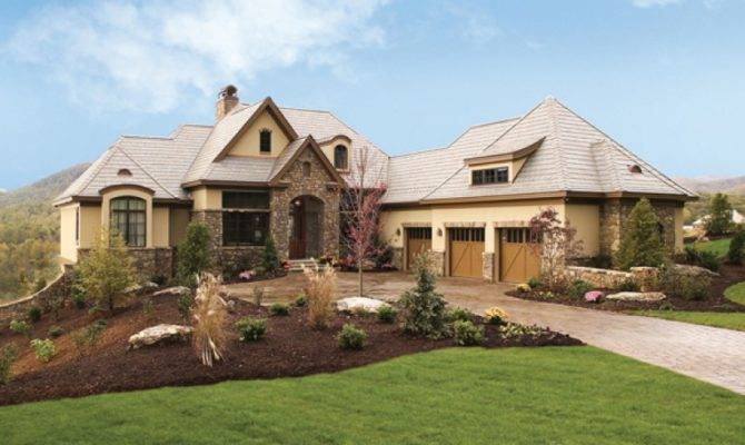 European House Plan Square Feet Bedrooms Dream