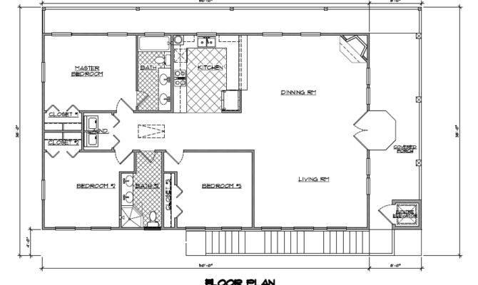 Eva Square Feet One Story Beach House Plans Space Design
