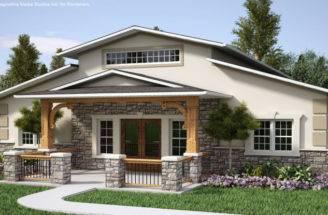 Exterior Design House Country Ideas Half Stone