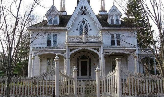 Exterior Painting Victorian Carpenter Gothic Cottage