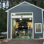 External Garage Car Lift Plans Pinterest Garages