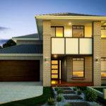 Facades Double Storey House Plans Home Designs Custom