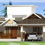 Feet Bedroom Single Storey House Indian Home Decor