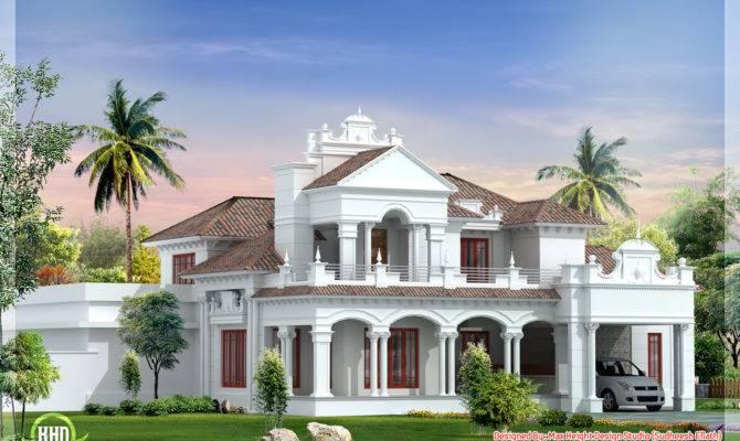 Feet Colonial House Plan Kerala Home Design Floor Plans