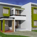 Feet Flat Roof Home Design Kerala Floor Plans