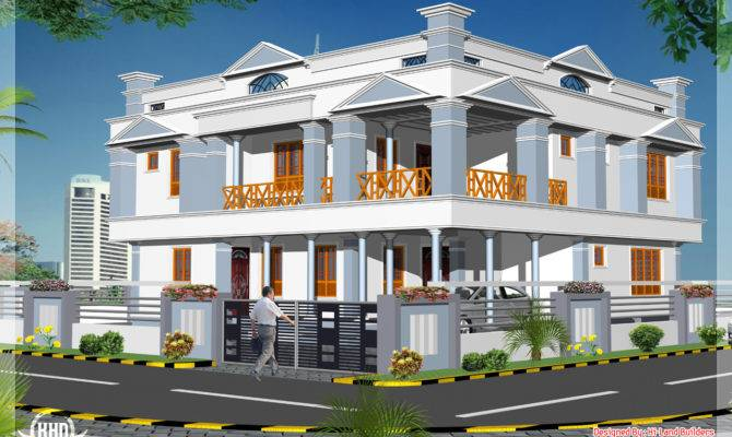 Feet Floor Home Design Kerala Plans