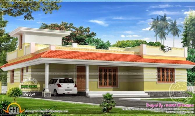Feet Kerala Model Single Floor Home House Designs