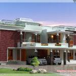 Feet Modern Unique Villa Design Kerala Home Floor Plans