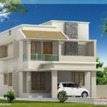 Feet Modern Villa Construction Cost Kerala Home Design