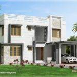 Feet Modern Villa Design Kerala Home Floor Plans