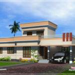 Feet One Floor House Exterior Kerala Home Design Plans