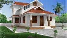 Feet Sloping Roof Villa Design Kerala Home Floor Plans