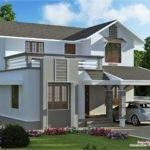 Feet Storey Villa Plan House Design Plans
