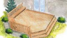Find Right House Deck Plans Simple Design