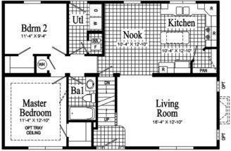 First Floor Plan Enlarge