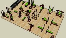 Fitness Center Layout Design Pinterest