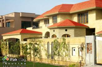 Flat Concrete Roofing Tiles Red Clay Roof Pakistan