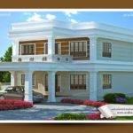 Flat Style Kerala Home Design