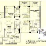 Floor Plan Bedroom Apartment Feet Central Park Gurgaon