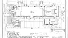 Floor Plan Church Historic American Buildings Survey