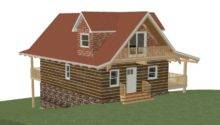 Floor Plan Cottage Sqft Footprint Living Space