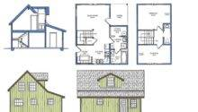 Floor Plan House Maximal Construction
