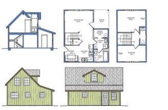 Floor Plan House Maximal Construction